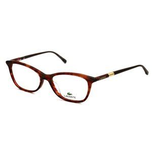 Lacoste Cat Eye Style Red Frame